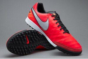 Кожаные сороконожки Nike Tiempo Genio II TF 819216-608