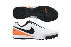 Кожаные сороконожки Nike Tiempo Genio II TF 819216-108