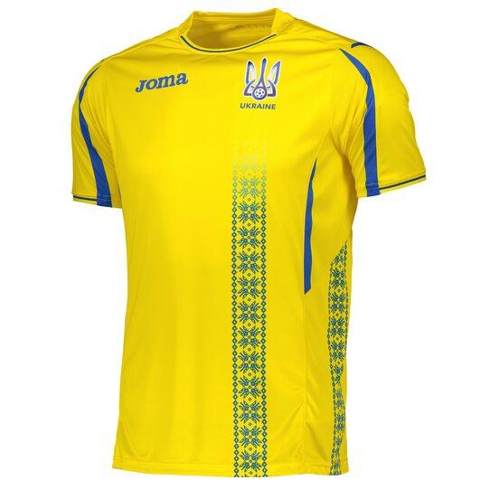 Игровая футболка сборной Украины Joma - FFU101011.17 сезон 2017-2018
