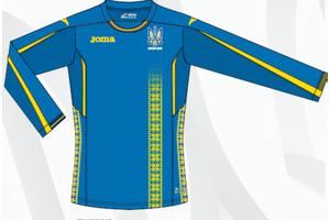Основная форма сборной Украины - FFU102012.17 (длинный рукав)