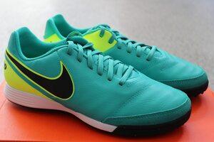 Кожаные сороконожки Nike Tiempo Genio II TF 819216-307