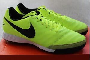 Кожаные сороконожки Nike Tiempo Genio II TF 819216-707