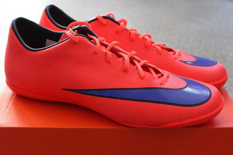 e38308c7 Футзалки (бампы) Nike MERCURIAL VICTORY V IC 651635-650 - купить в ...