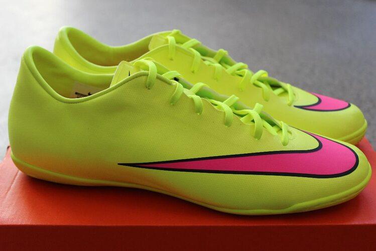 84ba7184 Футзалки (бампы) Nike MERCURIAL VICTORY V IC 651635-760 - купить в ...
