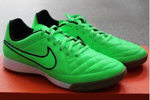 Кожаные футзалки Nike TIEMPO GENIO IC 631283-330