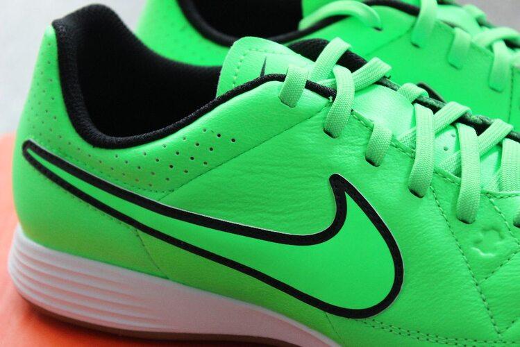new style 53697 adf5d ... Кожаные футзалки Nike TIEMPO GENIO IC 631283-330