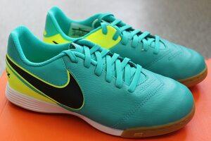 Кожаные детские футзалки Nike JR TIEMPO LEGEND VI IC 819190-307