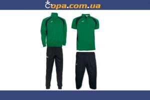 Комплект Champion III (4 предмета) зелено-черный