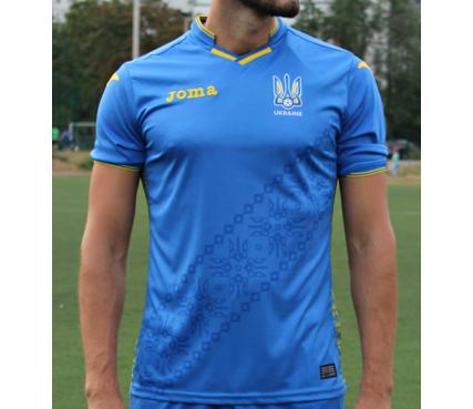 Основная футболка форма сборной Украины Joma - FFU101012.18