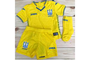 Комплект детской формы сборной Украины Joma UKRAINE - FFU407011.18
