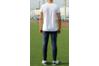 Комплект сборной Украины Joma UKRAINE - белый с темно-синим (поло+штаны)