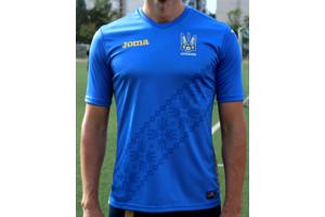 Новая официальная реплика футболки сборной Украины Joma - FFU401012.18