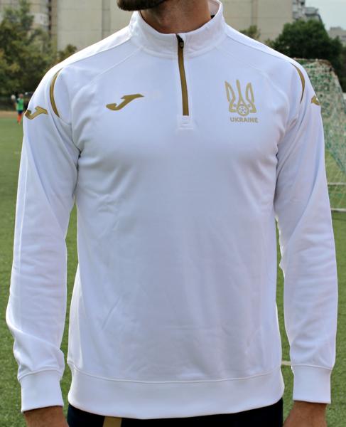 Новый  реглан сборной Украины Joma UKRAINE - FFU211011.18 - белый