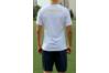 Тренировочный комплект сборной Украины Joma UKRAINE - белый с темно-синим (футболка x/б+шорты)