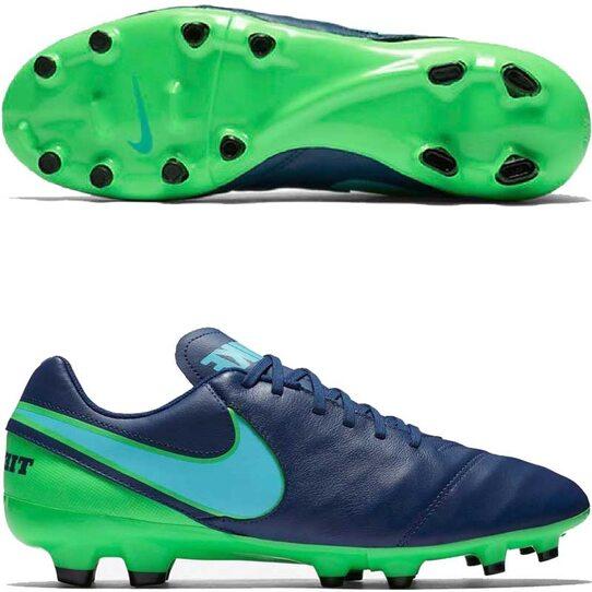 5a8450a3 Футбольные бутсы Nike Tiempo Genio II FG 819213-443 - купить в ...