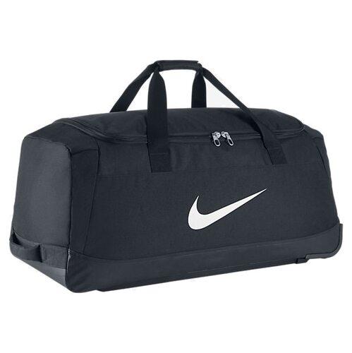 f4f9cd76 Сумка спортивная на колесиках Nike М Club Team Trolley Bag 010 (BA5199-010)  - оригинал, гарантия