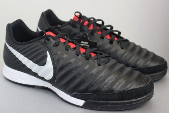 def4fe1bc3ef87 Кожаные футзалки (бампы) Nike LegendX 7 Academy IC AH7244-006 - оригинал,  гарантия