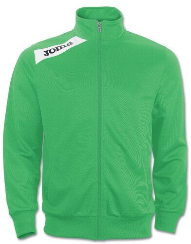Спортивная олимпийка Joma Victory зеленая (полиестр) - купить в ... 331a7106730