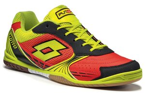Футзалки Lotto TACTO 500 ID R8174 RED WARM/YELLOW SAFETY