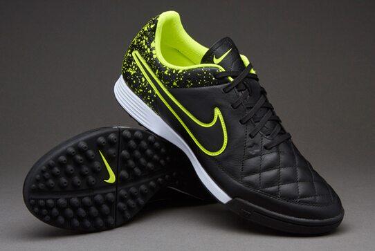 72c127ae4449ee Кожаные сороконожки Nike TIEMPO GENIO LEATHER TF 631284-007 - купить ...