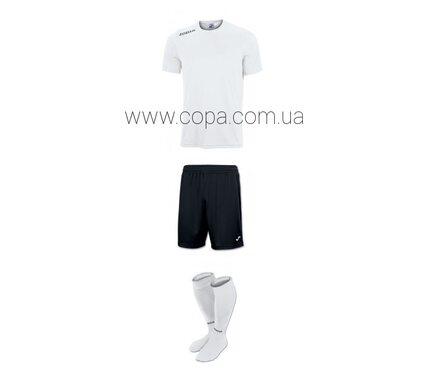 Joma Victory - футбольная форма  в белом цвете
