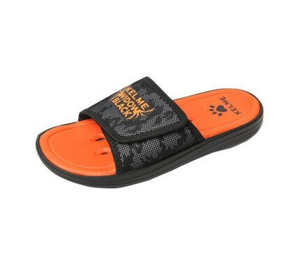 Тапки мужские Kelme черно-оранжевые SLIPPERS 6881300.9003